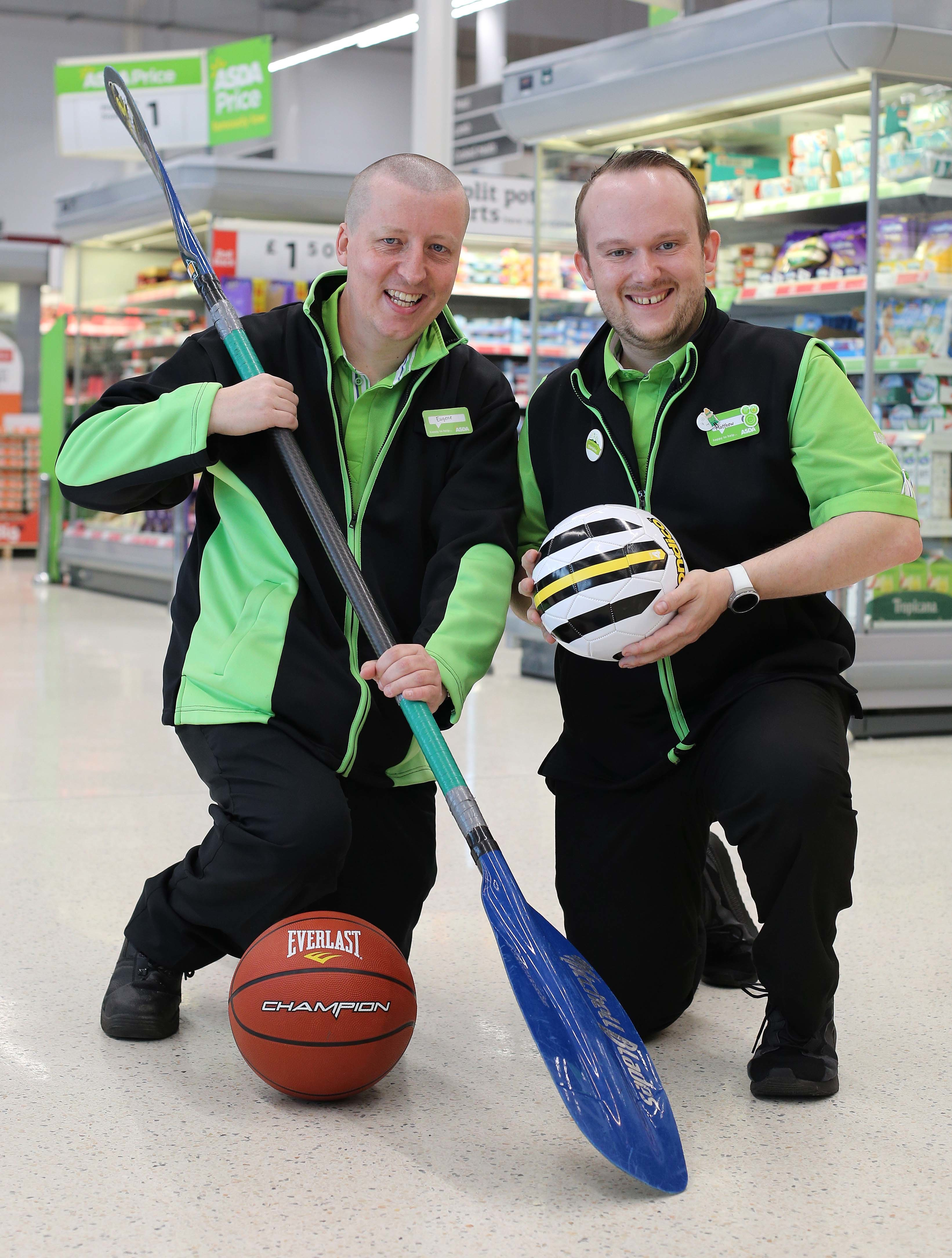 Eugene McGeever from Asda Strabane has been chosen for the 2019 Special Olympics