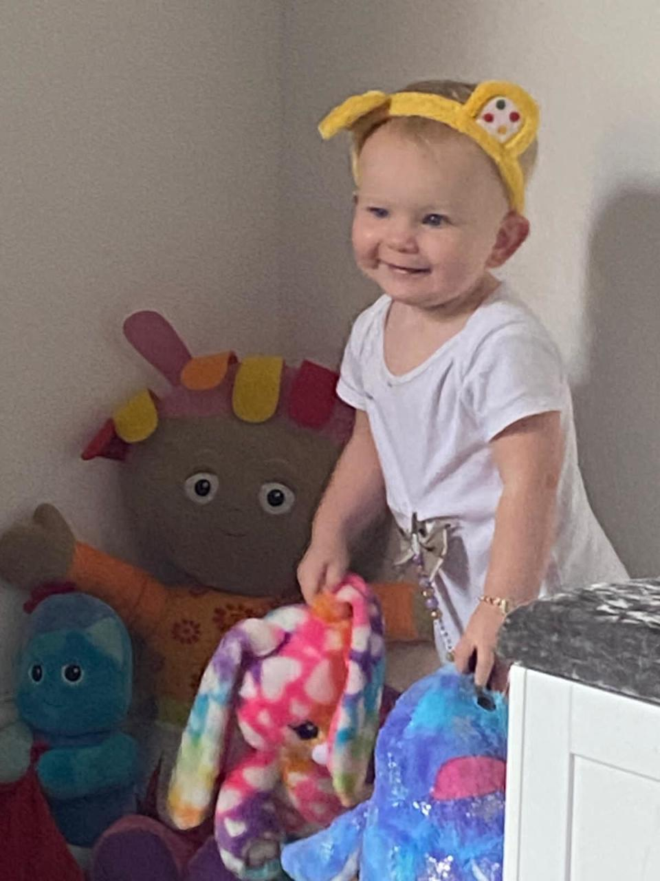 Baby Freya Rocking Pudsey Ears! | Asda Leicester Abbey Lane