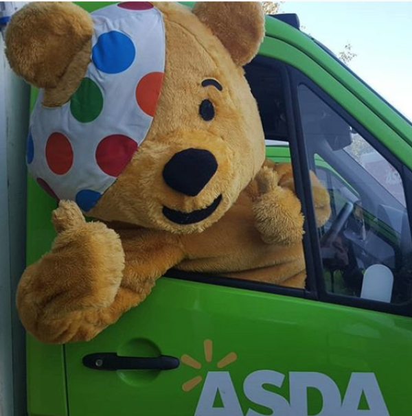 Asda colleagues get behind BBC Children in Need appeal