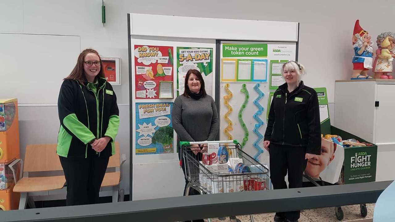 Food bank donations | Asda Peterhead