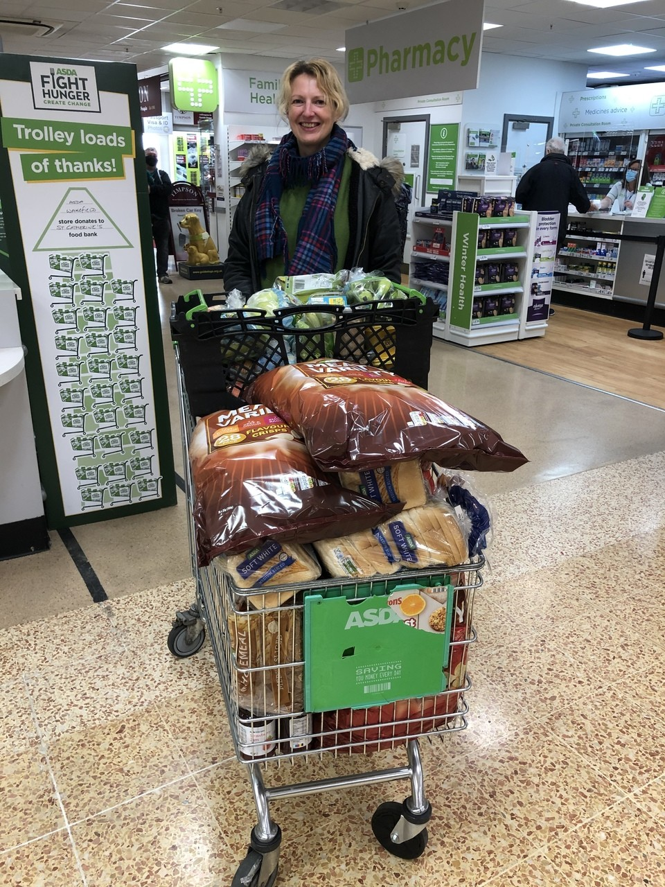 300 lunches donated | Asda Wakefield