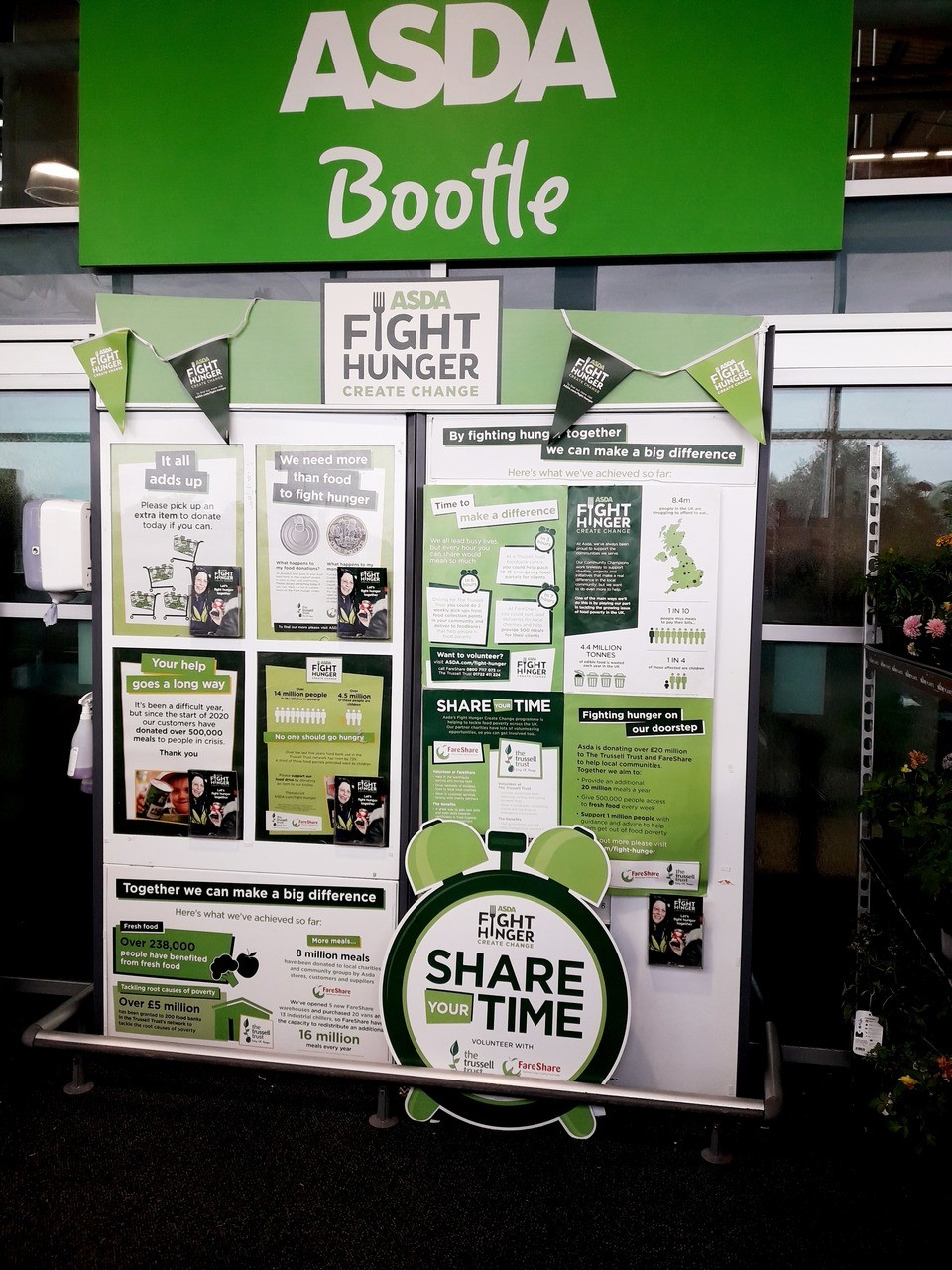 Fight Hunger support | Asda Bootle