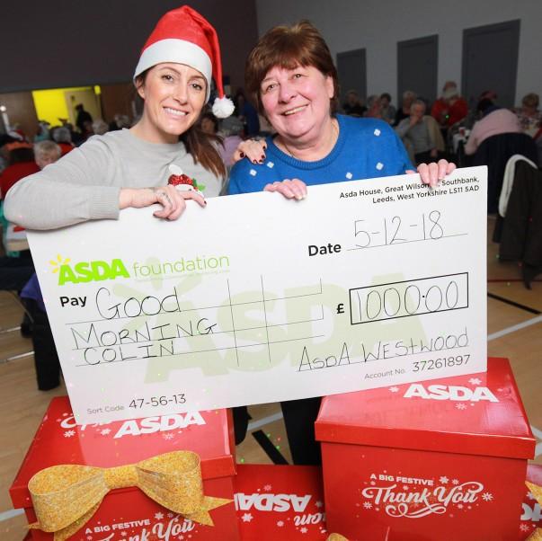 Asda Belfast Westwood community champion Noeleen McMahon