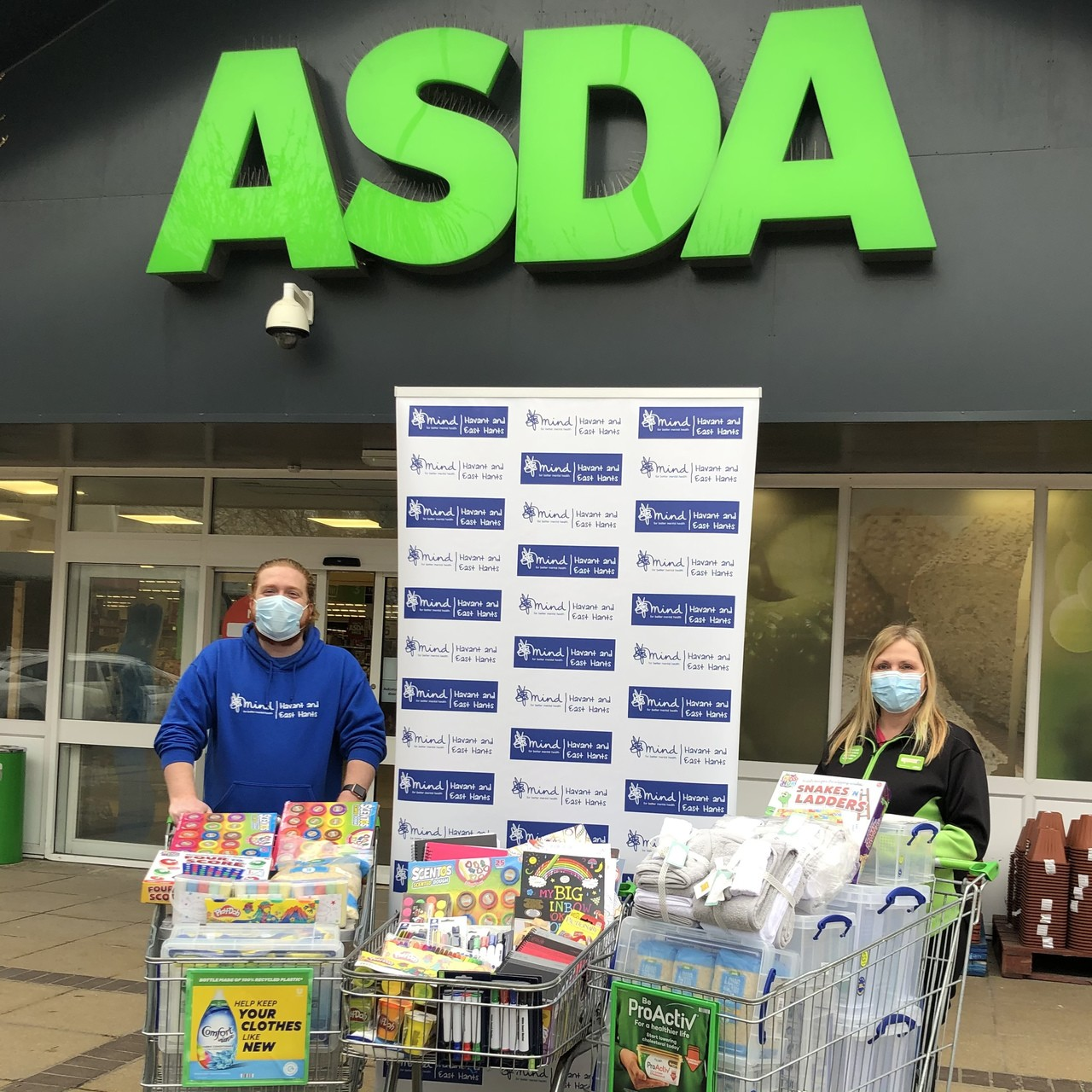 Havant and East Hants Mind Supporting Communities grant | Asda Waterlooville