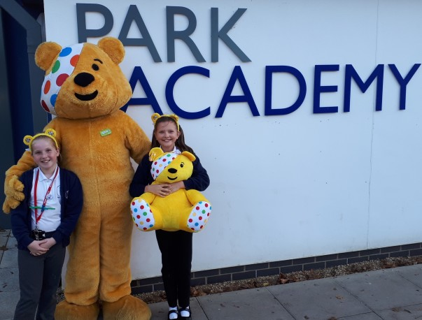 Asda Boston community champion Stephen supporting BBC Children in Need