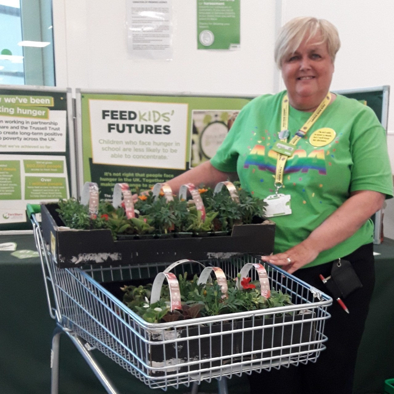 Local donation to support wellbeing | Asda Gosforth