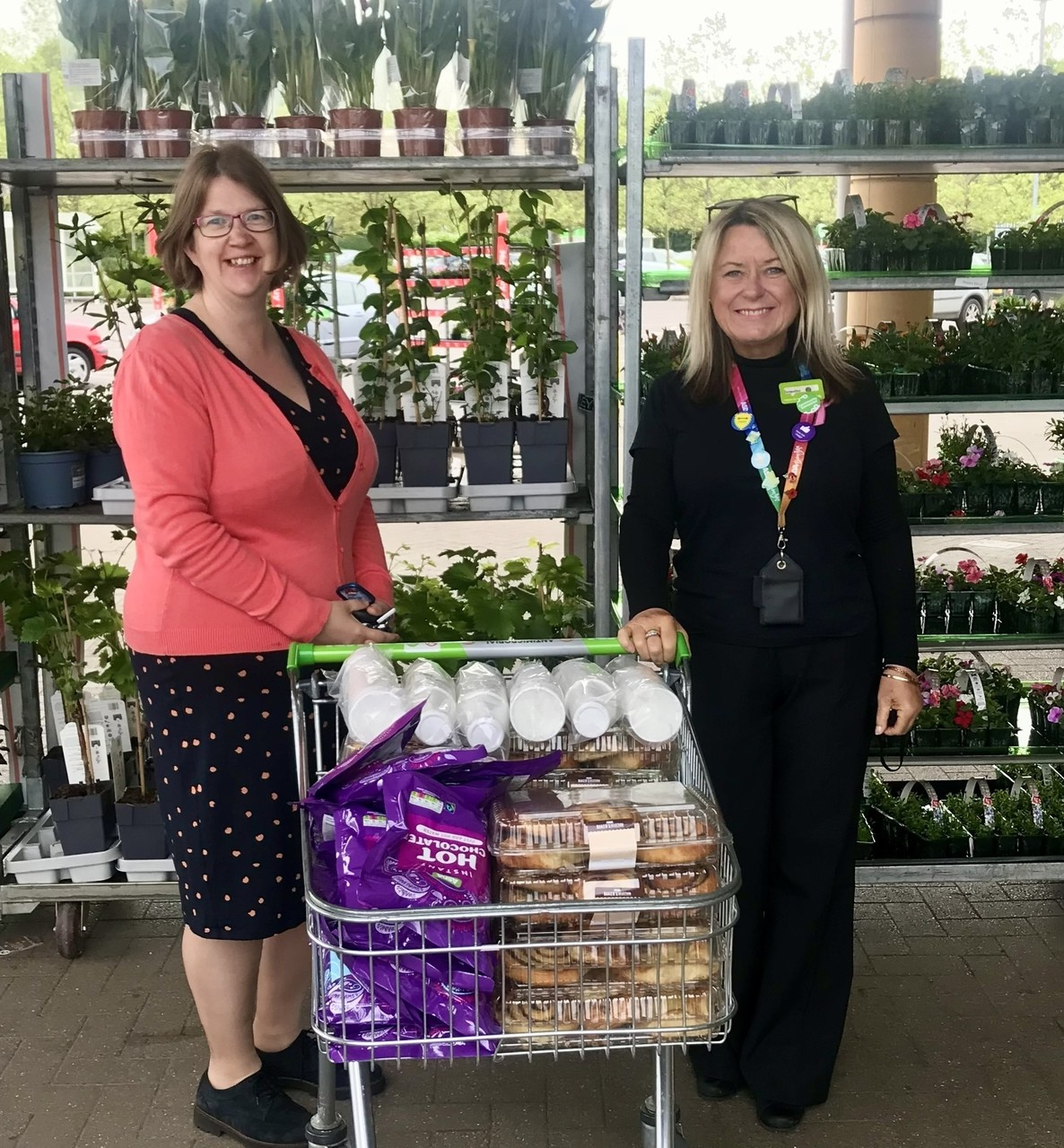 Frome Community College donation   Asda Frome