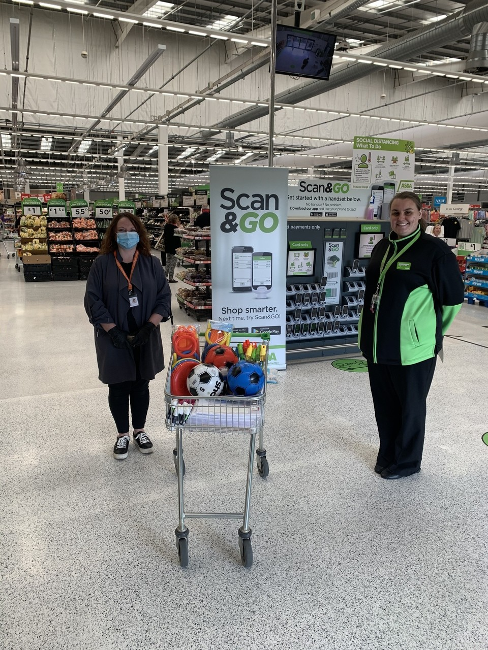 Home start donation | Asda Aberdeen Beach
