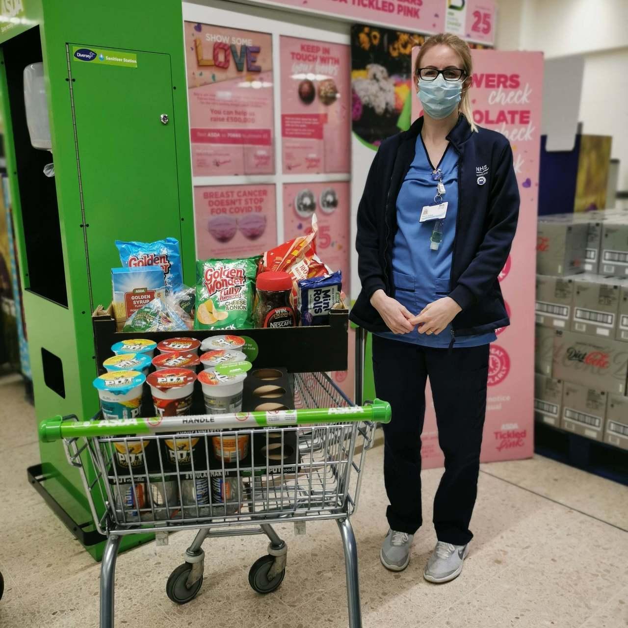 NHS Donation | Asda Falkirk
