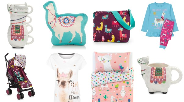 George Home llama homeware