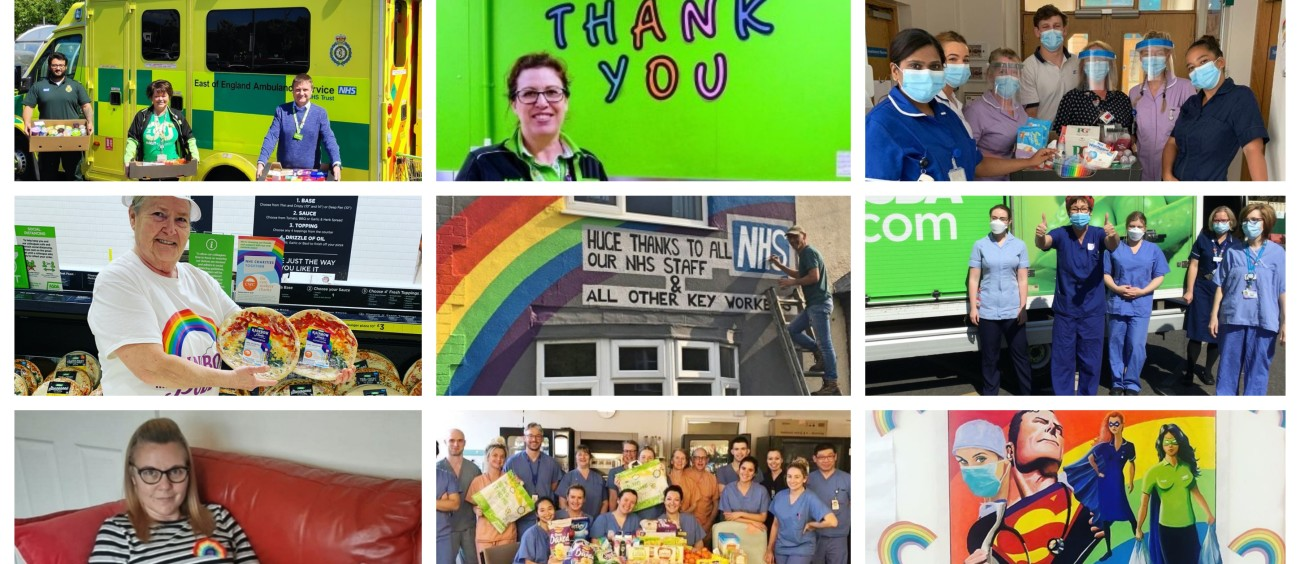 Asda says thank you to the NHS on its 72nd birthday
