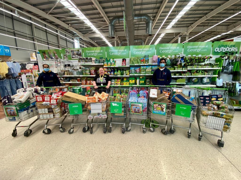 £750 donation to foodbank | Asda Dewsbury