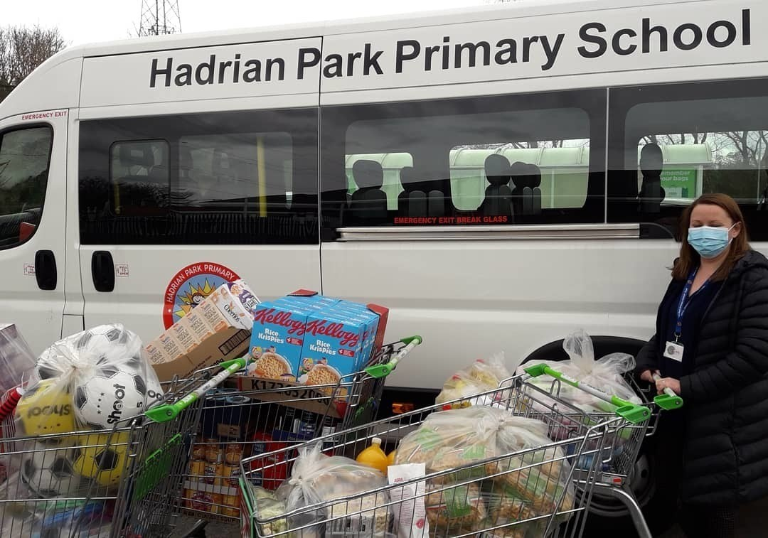 Hadrian Park Primary School grant | Asda Benton