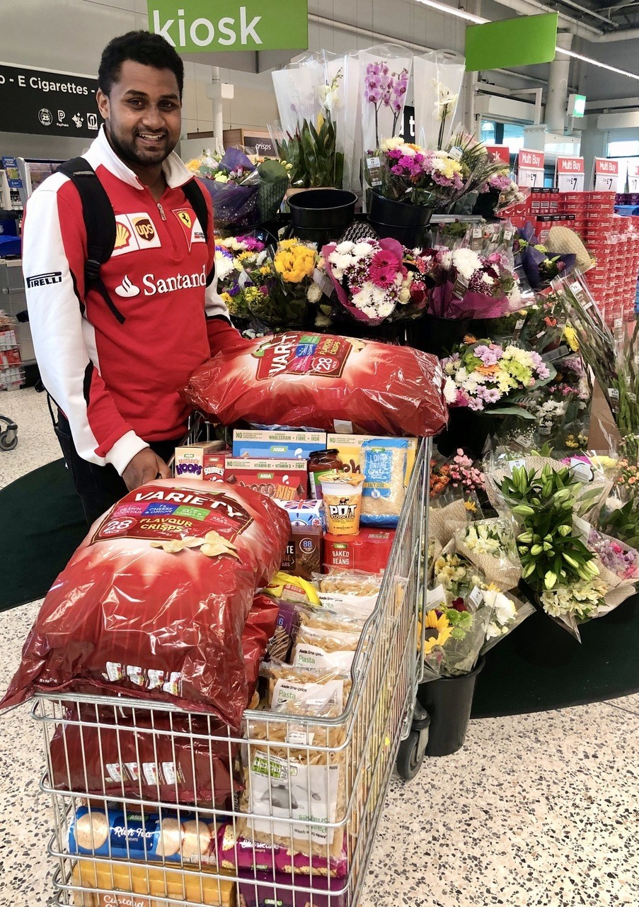 Donation for food parcels | Asda Leicester Abbey Lane