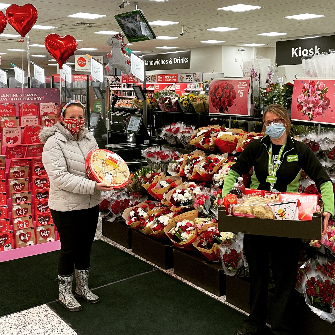Valentine's donation | Asda St Austell