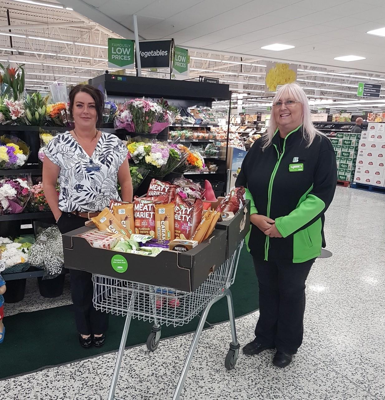Regency care home donation | Asda Pilsworth