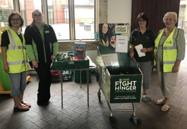 Asda Fight Hunger Create Change at Asda Worcester
