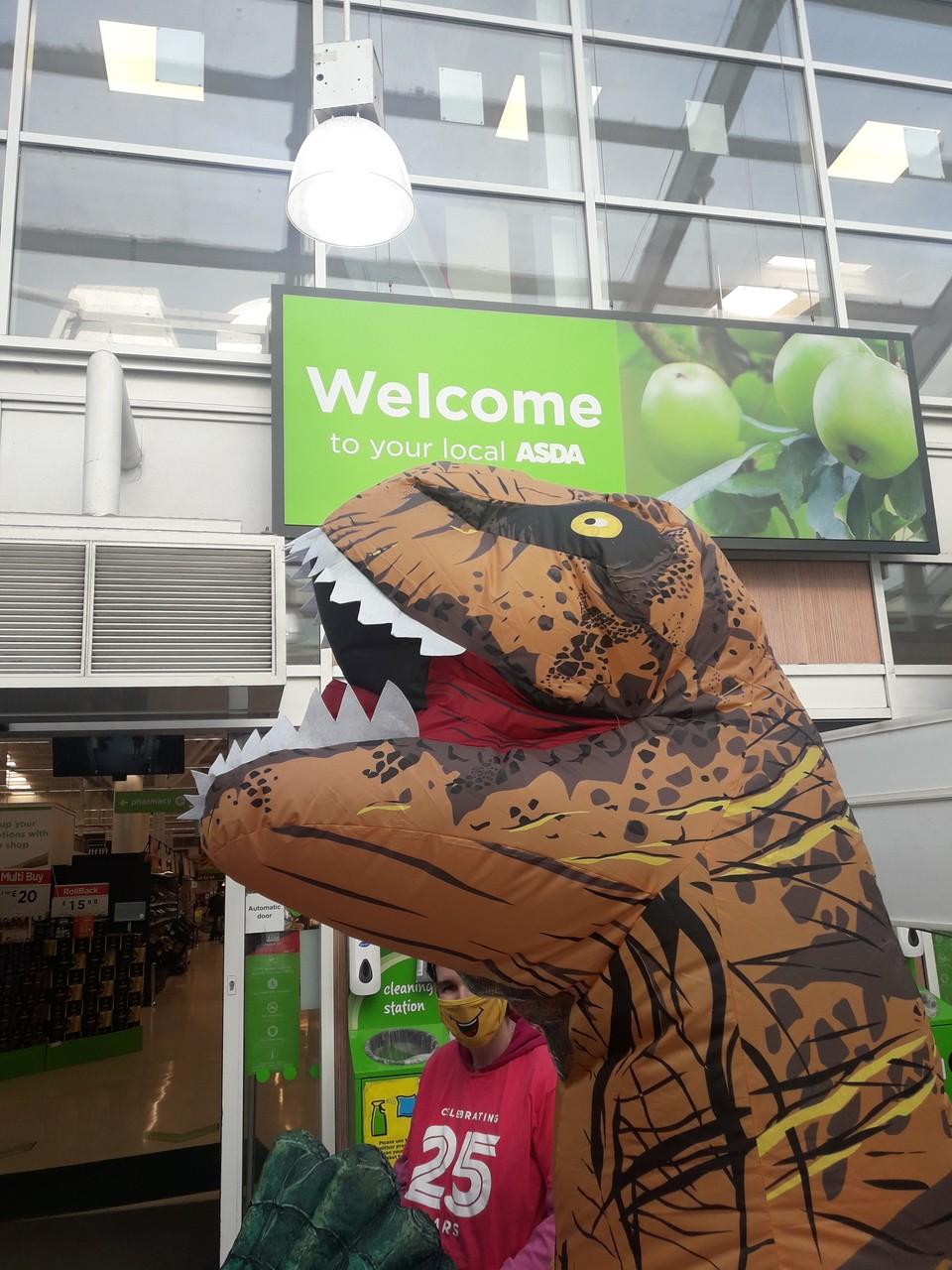 Surprise Visit   Asda Gateshead