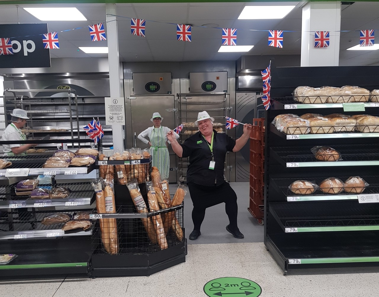 VE Day celebrations | Asda Cheltenham