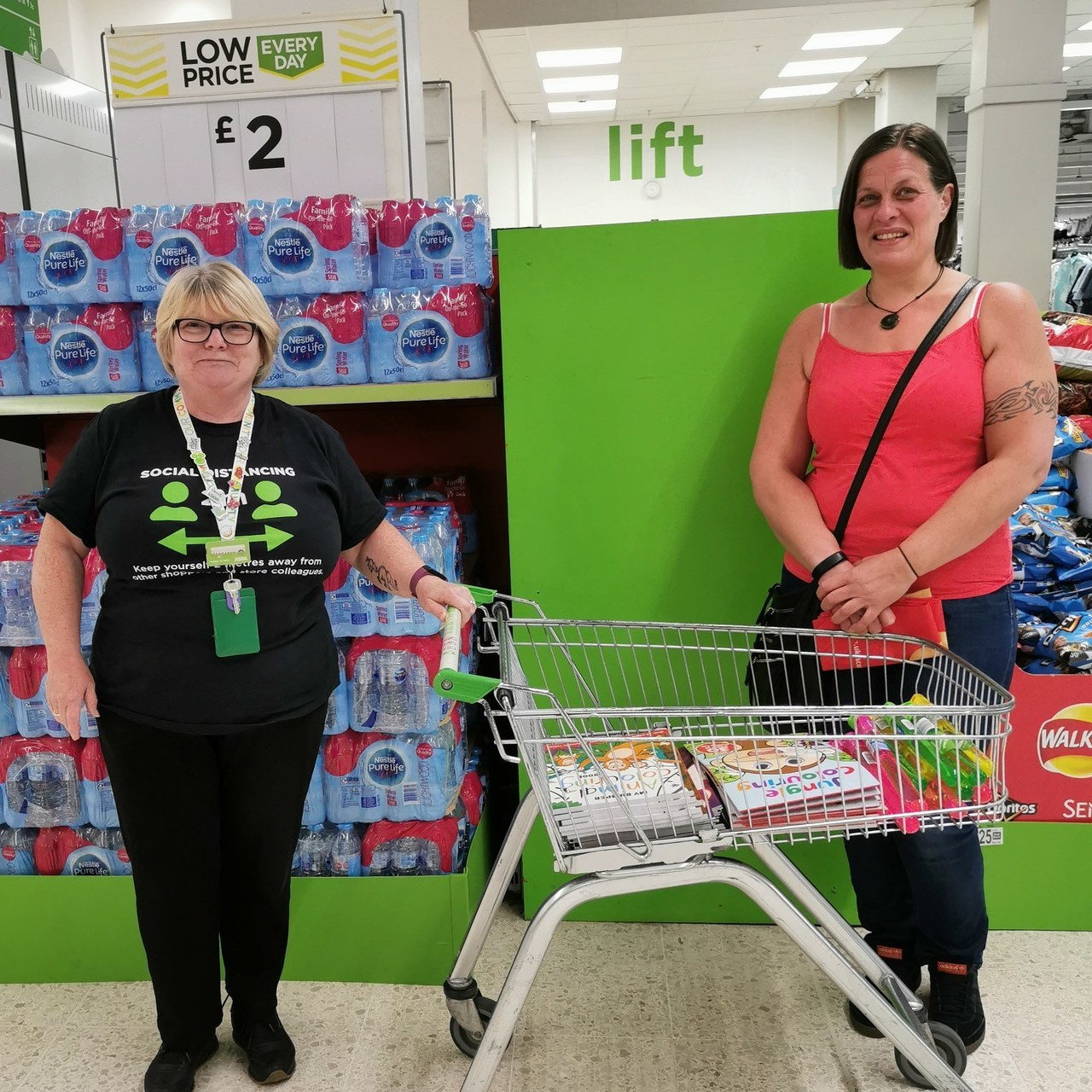 Donation | Asda Falkirk