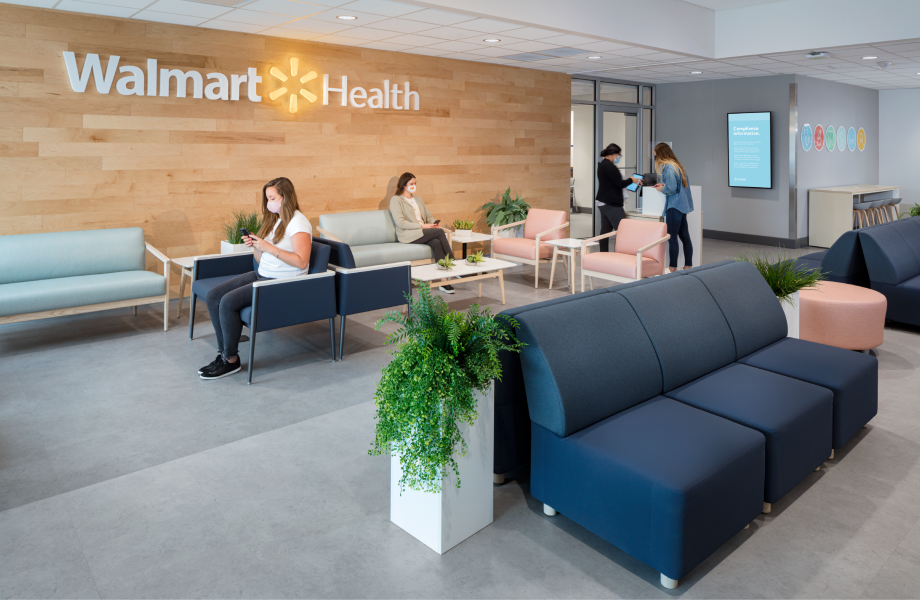 Walmart Health Lobby