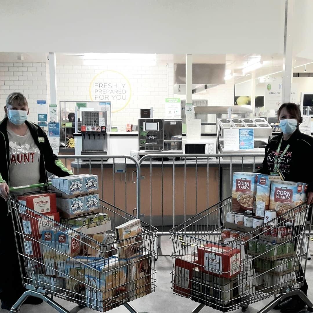Foodbank support | Asda Wrexham