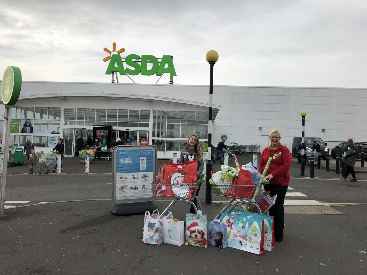Amazing donations for our give a gift campaign | Asda Derby