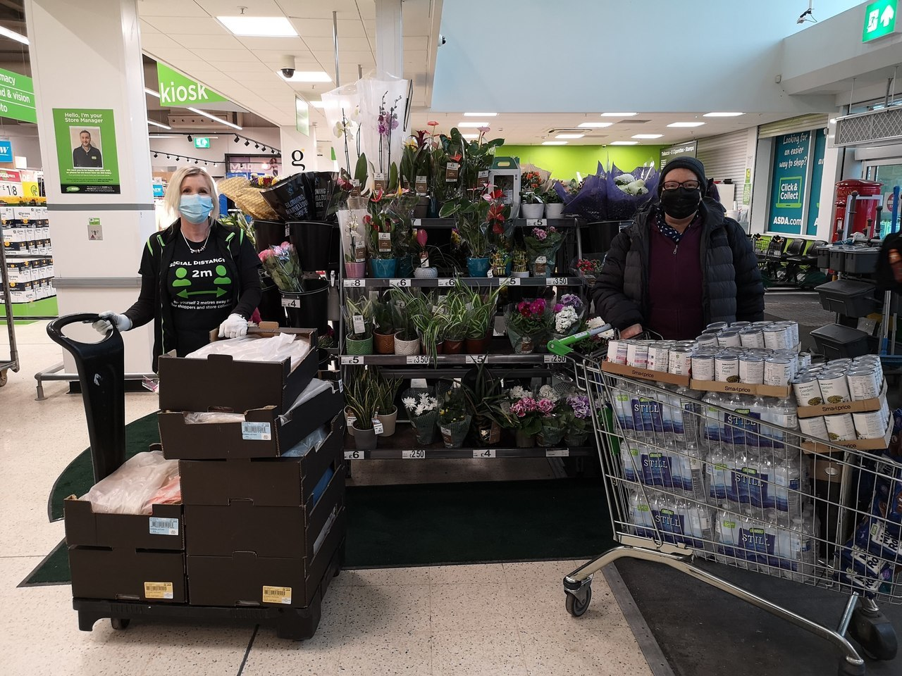 Helping WOW (Welcome on Wednesday) | Asda Long Eaton