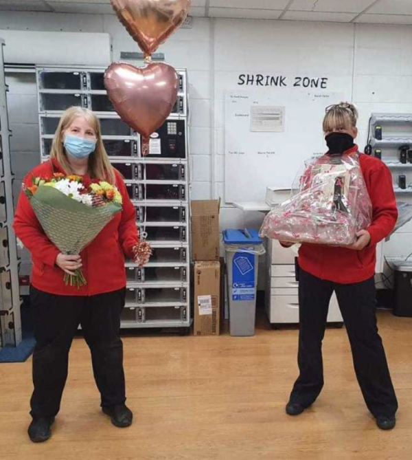 Asda Spennymoor wish Mr and Mrs Hoole at happy ruby anniversary