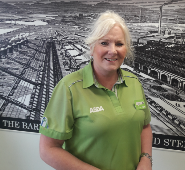 Asda Barrow community champion Gill Gerrish