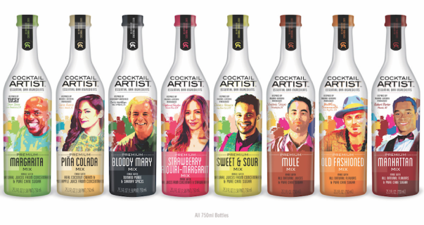 Cocktail Artist drinks