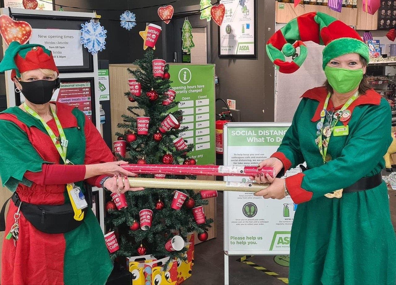 National Elf day | Asda Newport Isle of Wight