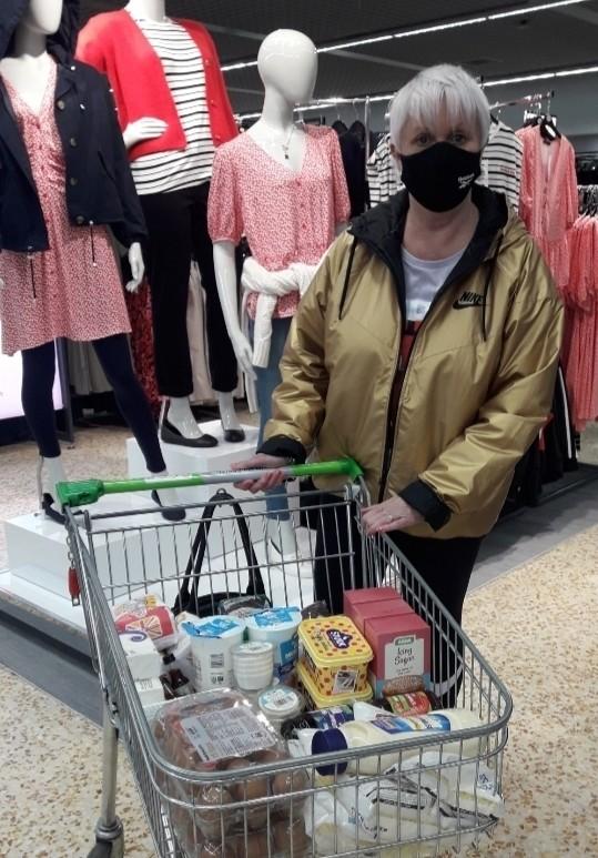 Salvation Army donation | Asda Cramlington