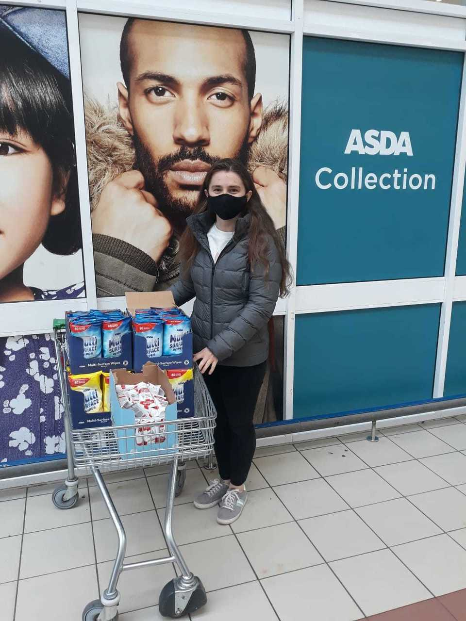 Crisis donation | Asda Perry Barr