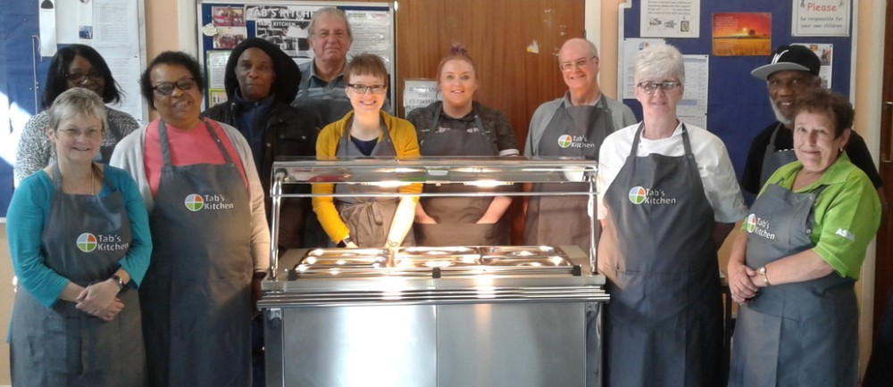 Asda Wolverhampton helping soup kitchen