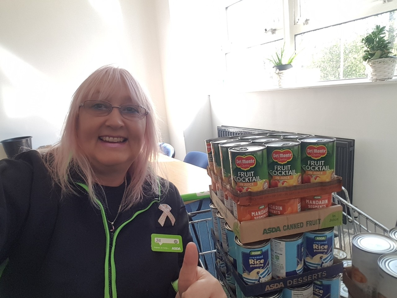 Supporting our local food bank | Asda Pilsworth