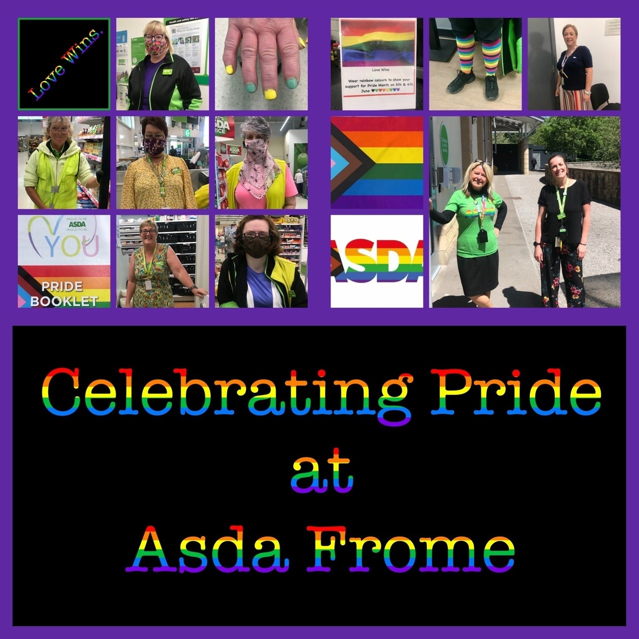 Pride | Asda Frome