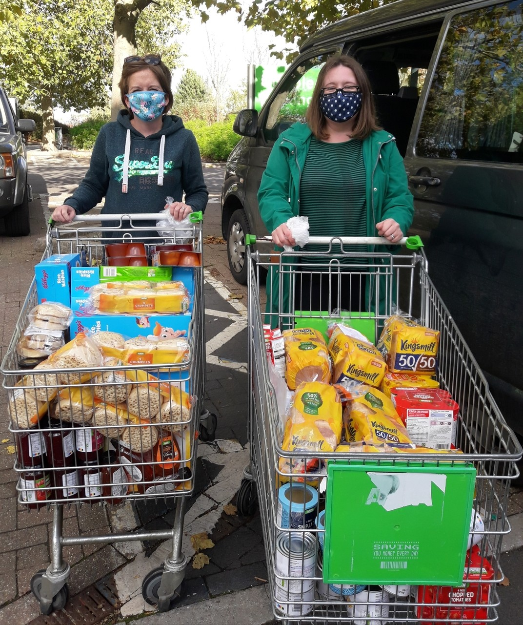 Donation to breakfast and after-school clubs | Asda Kingshill