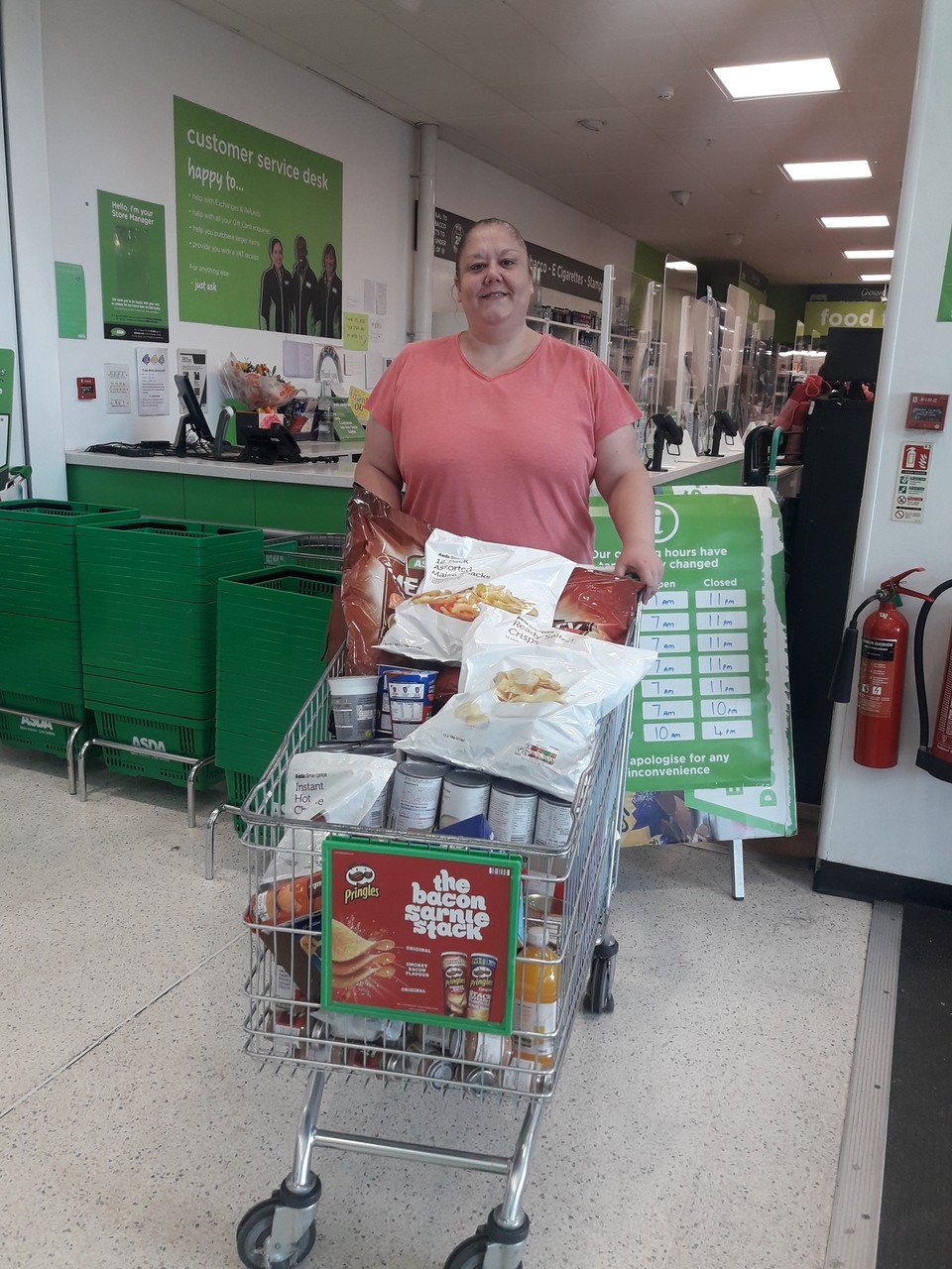 Mansfield Soup Kitchen donation | Asda Mansfield