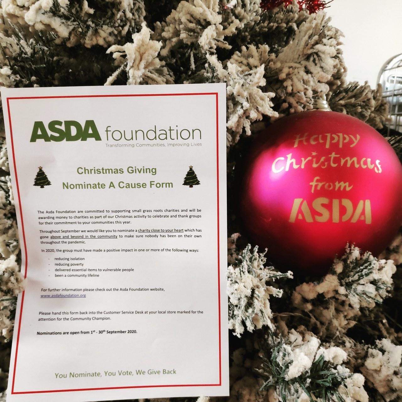 Christmas giving at Asda Watford | Asda Watford