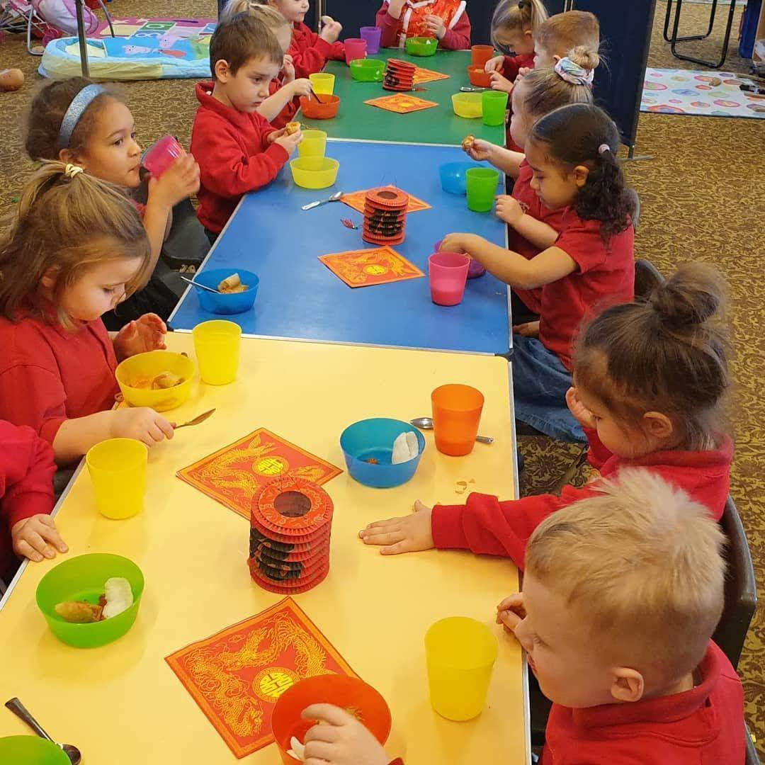 Pre-school children enjoy Chinese New Year | Asda Long Eaton