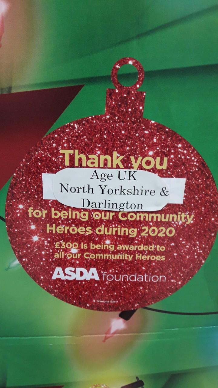 Christmas Giving from Asda Foundation | Asda Darlington