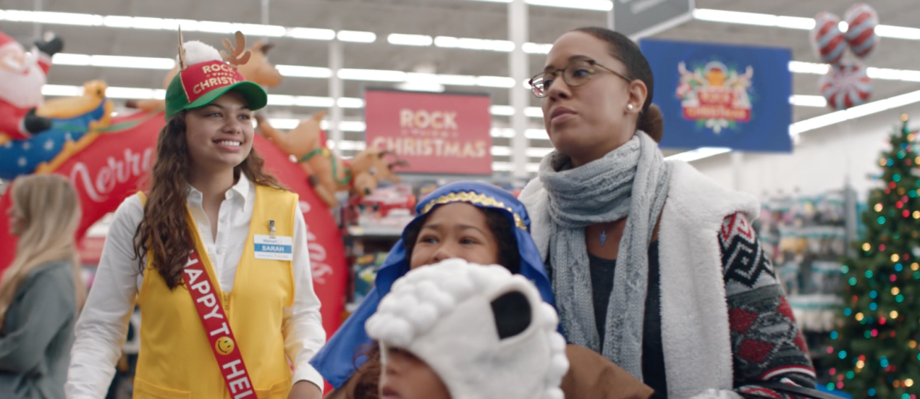 share - Walmart Christmas Commercial