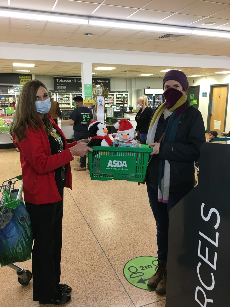 Donations of toys for Southern Brookes charity partnerships | Asda Longwell Green