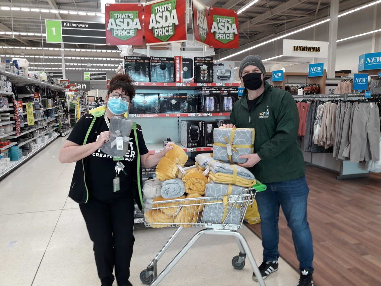 Supporting youth group | Asda Dundee West