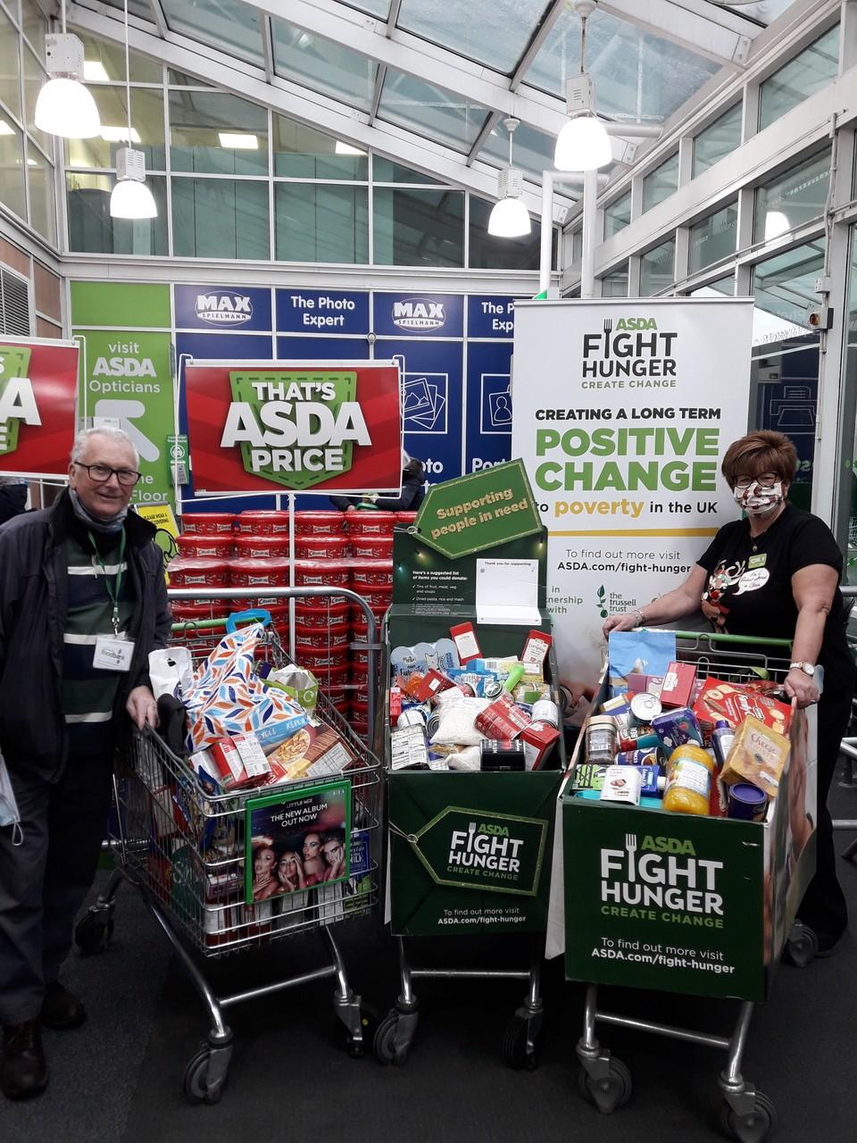 Gateshead Foodbank | Asda Gateshead