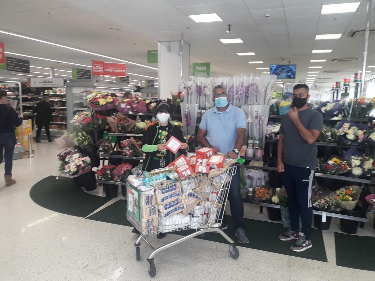 Foodbank donation | Asda Huddersfield