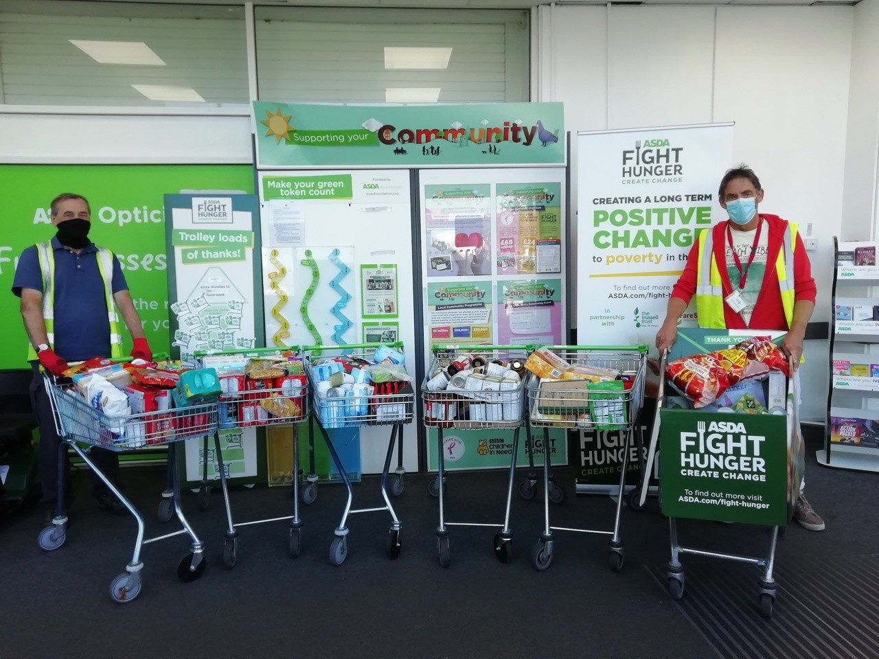 Food bank donation | Asda Morley
