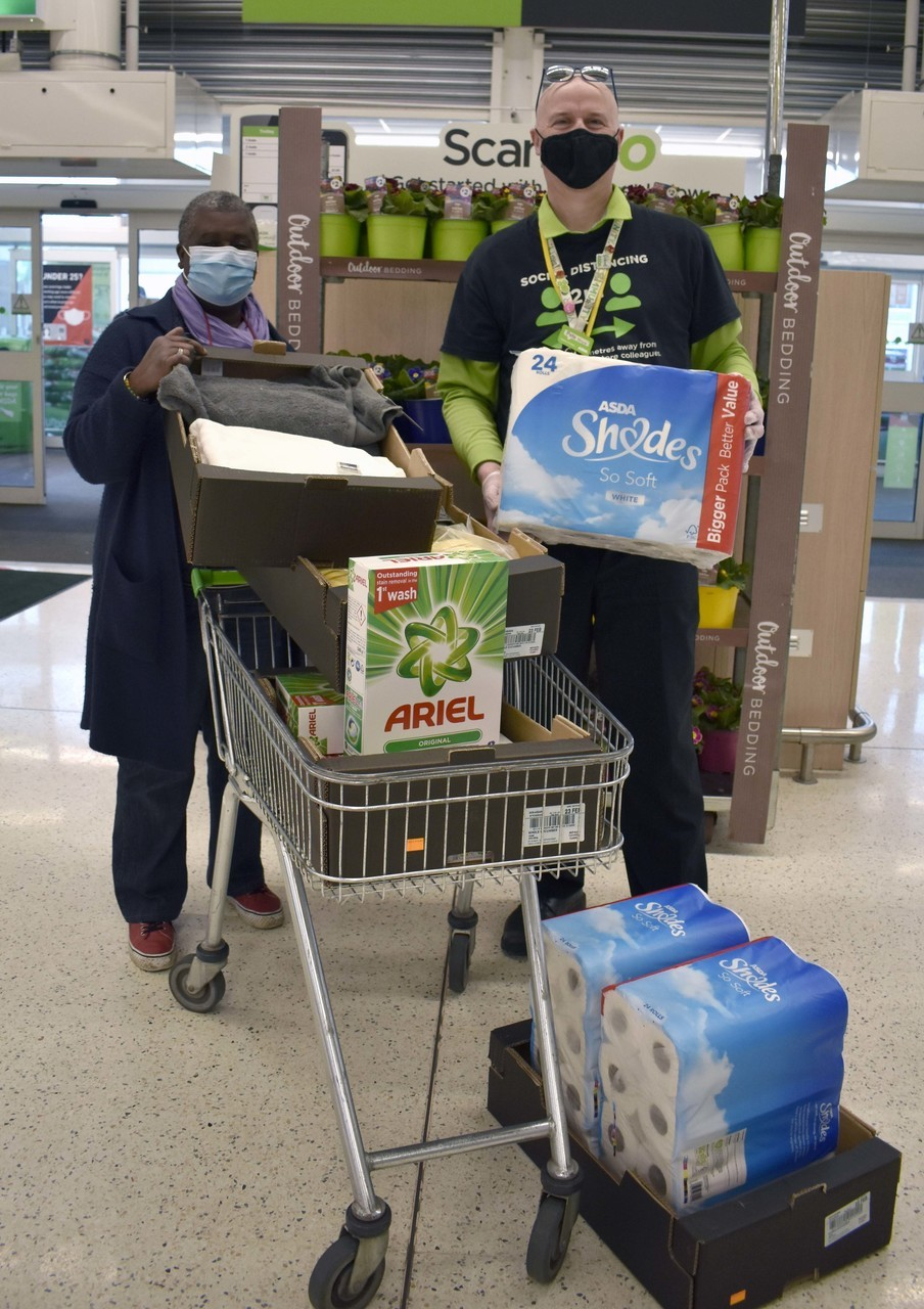 Donation to Charis House | Asda Bideford