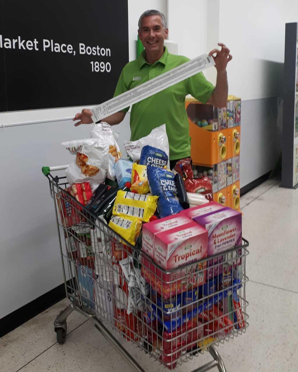 Generous Callum | Asda Boston